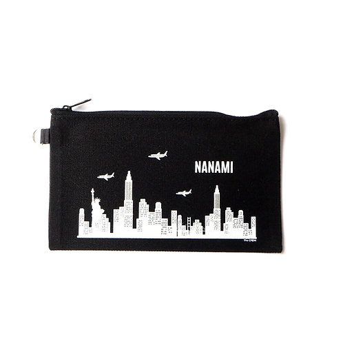 World City | Customized Name Pouch