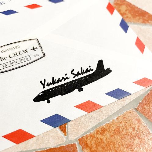 Customized Name Stamp | Plane Ⅱ