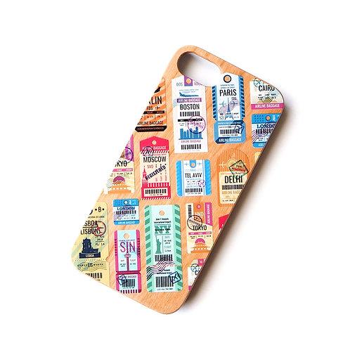 AIR TAG | Wood Phone Case