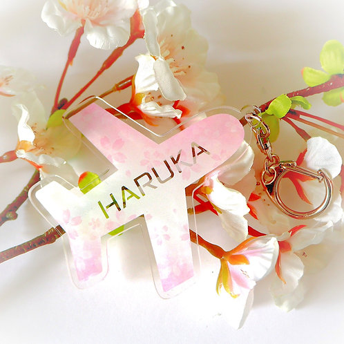 Customized Name Sakura Bag Tag