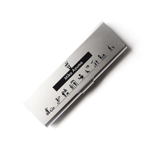 Terminal | Cutomized Name Pen Case