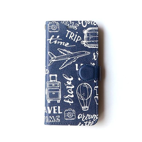 TRAVEL ① | Booklet Phone Case