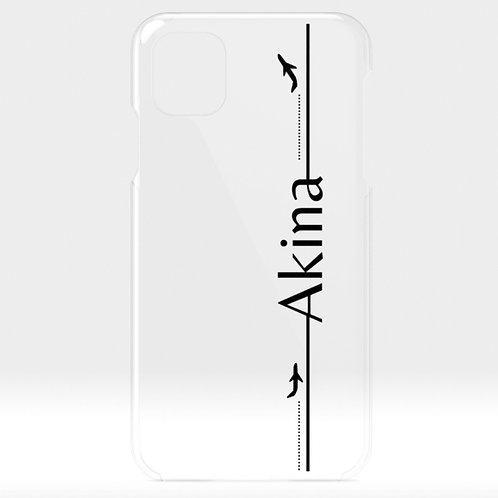 Take-off | Customized Name Clear Case