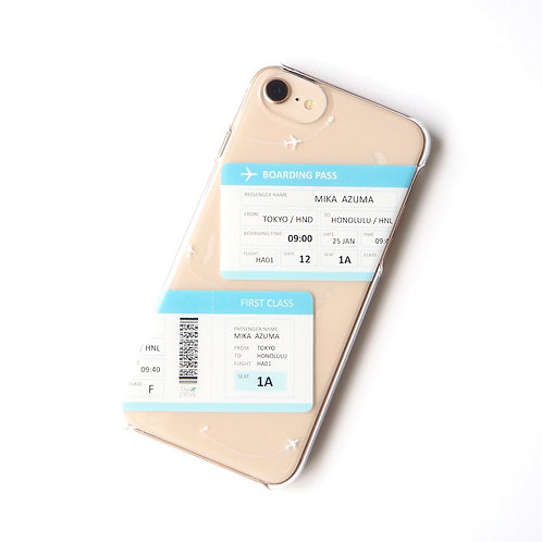 Boarding Pass | Customized Name Phone Case