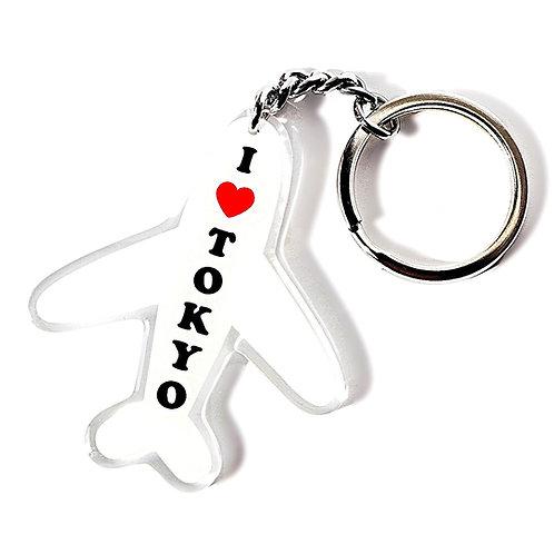 I ♡ TOKYO Keychain