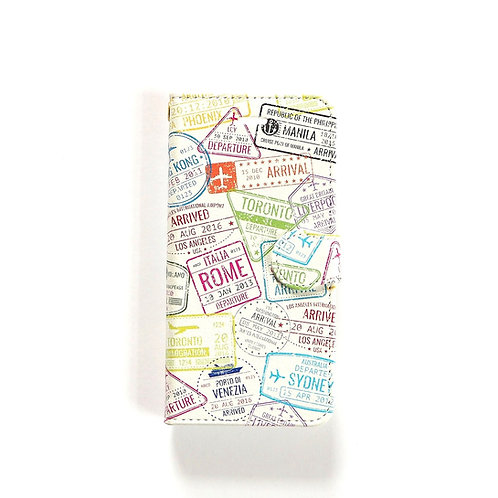 Passport Stamps | Booklet Phone Case