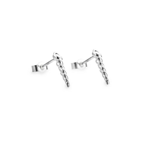 Twisted Earrings Studs