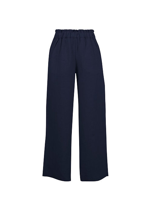 Natalia Navy Trousers