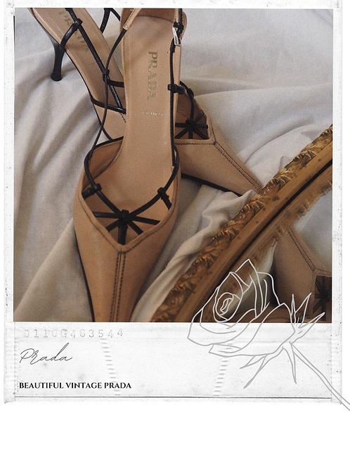 Vintage Prada Court Shoes