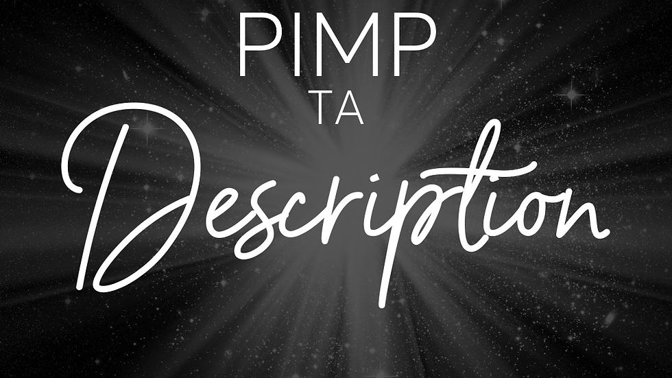 Pimp Ta Description