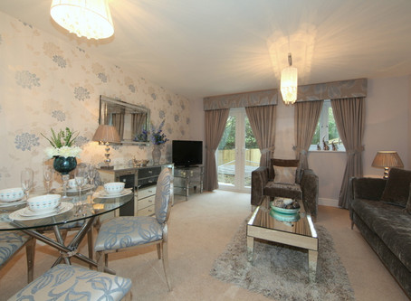 Coastal Colours in Hastings | Romantic Show Home