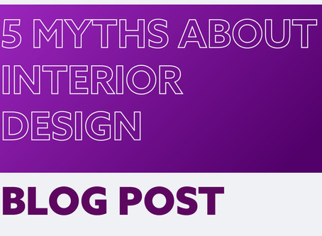 """Interior design is expensive"" and 4 other myths"