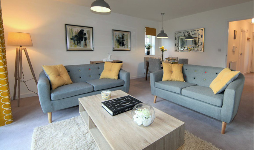 Scandinavian Style Show Home Project