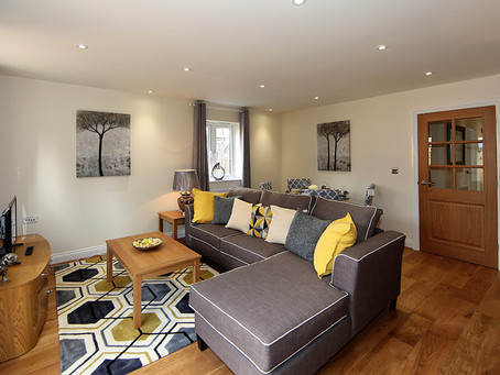 Mustard & Grey Interior - 3 Bed Show Home