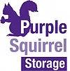 Purple Squirrel Storage Logo