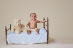 6 months old photography