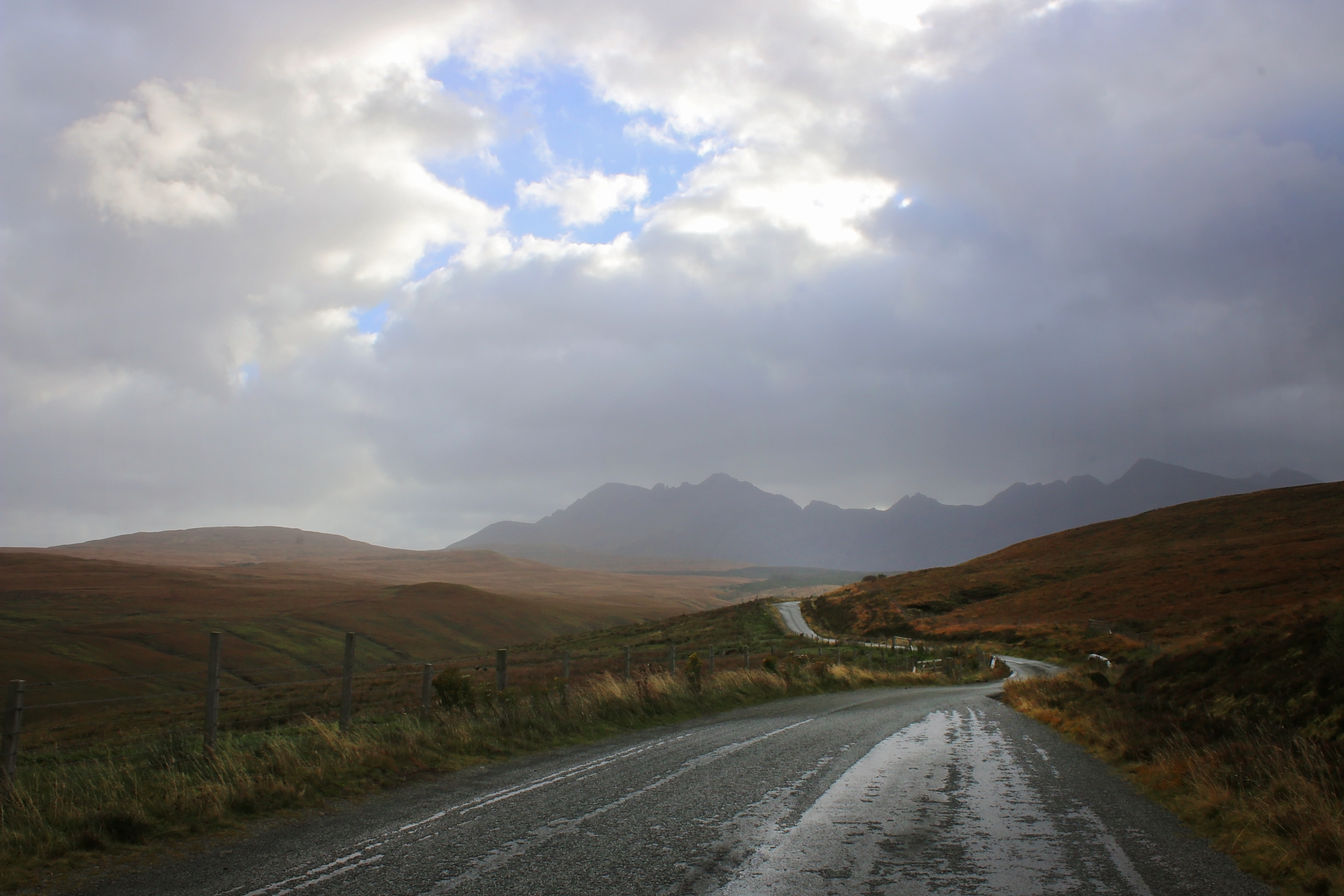 The Road to the Fairy Pools, Skye