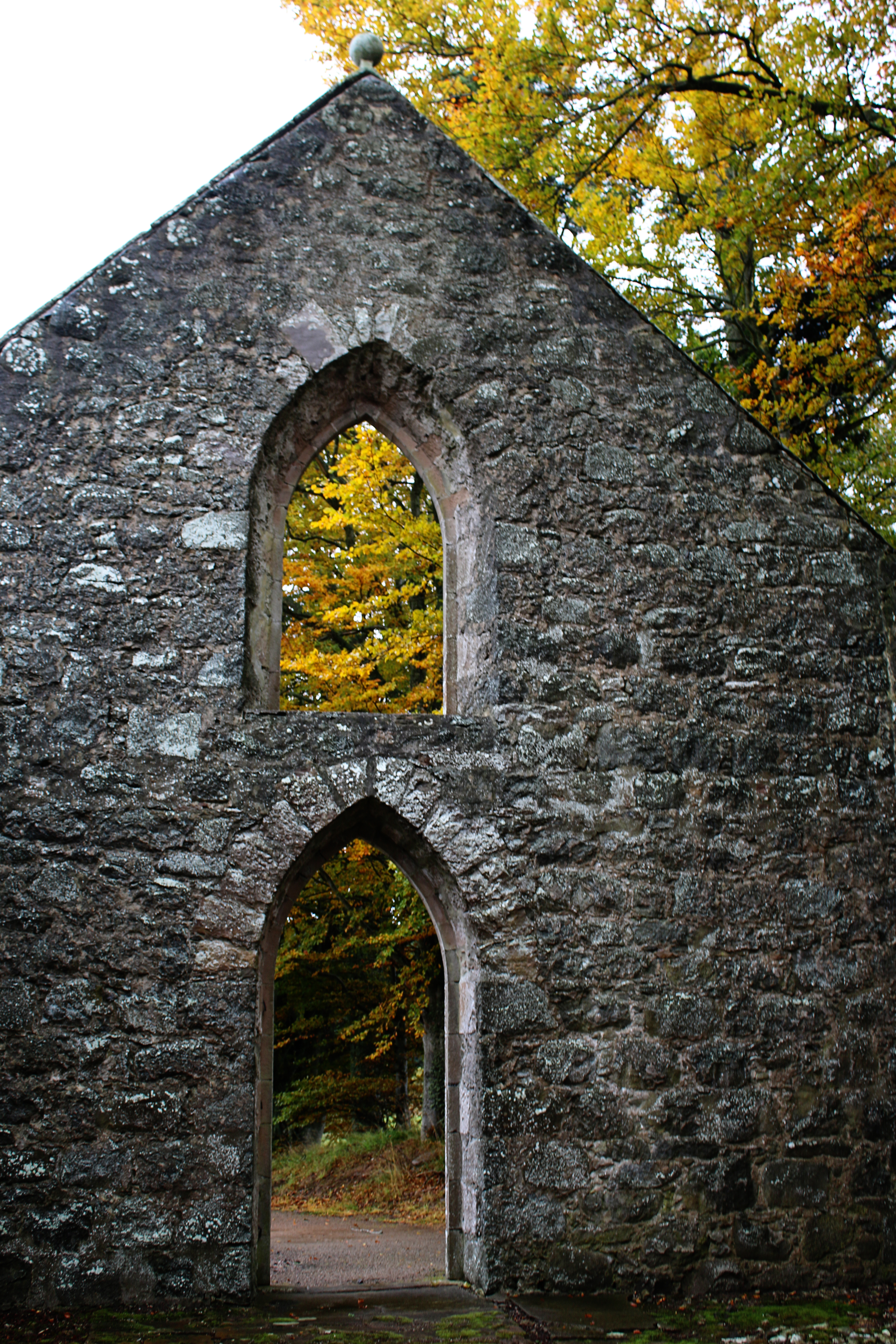 Abbey Ruins, Scottish Country