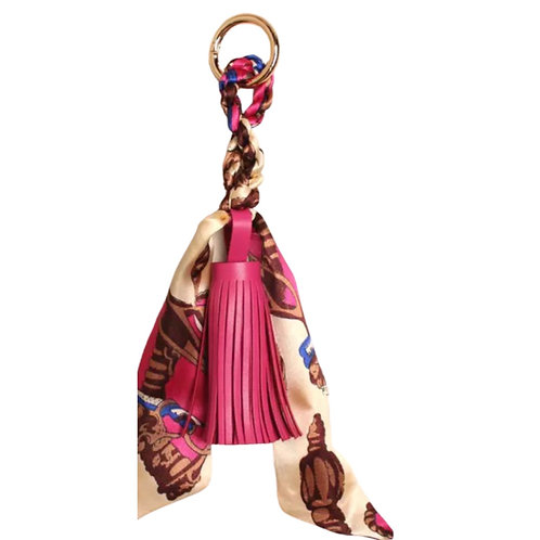 La petite surprise Couture Anhänger Tassel mit Twilly Pink