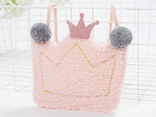 La petite surprise Couture Täschchen Krone Hellrosa