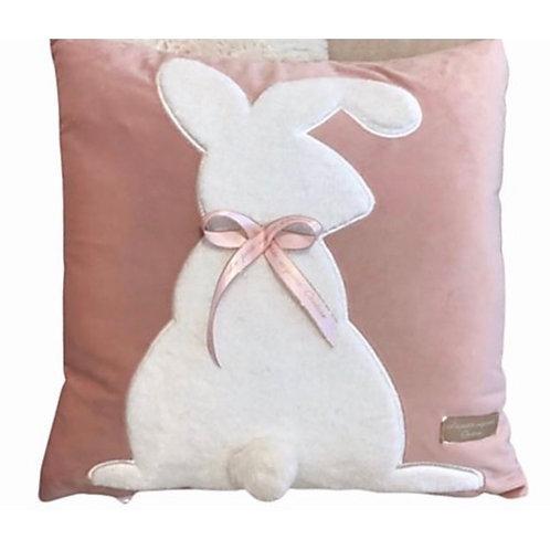 La petite surprise Couture Bunny Kissen Rosa 45x45 cm
