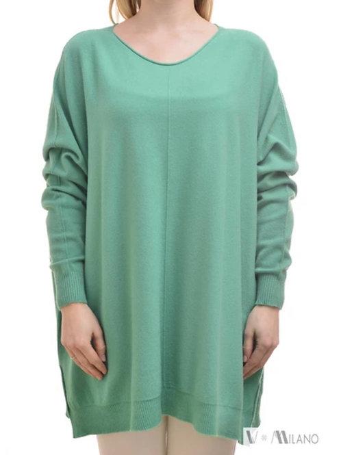 V Milano - Pullover Dulcie Oversize Tiffany