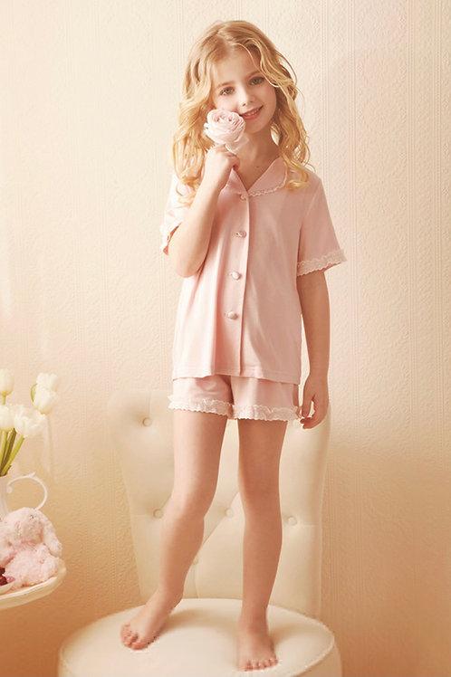 La petite surprise Couture Schlafanzug Louanne Rosa