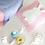 Thumbnail: La petite surprise Couture Kissen Kaninchen Rosa 50x50 cm