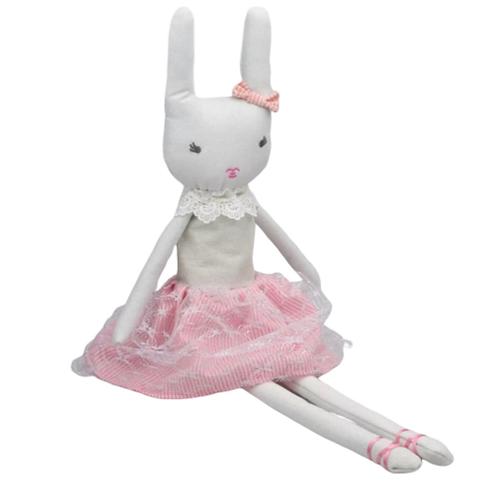 La petite surprise Couture Stofftier Bunny Rosa 60 cm