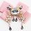 Thumbnail: La petite surprise Couture Brosche Rosa