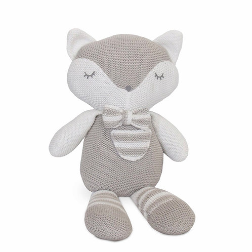 Living Textiles Knitted Toy Charley Fox 37 cm