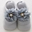 Thumbnail: La petite surprise Couture - 1 Paar Baby Socken Grau 0-12 Monate