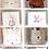 Thumbnail: La petite surprise Couture - Bunny Kissen 40x40 cm