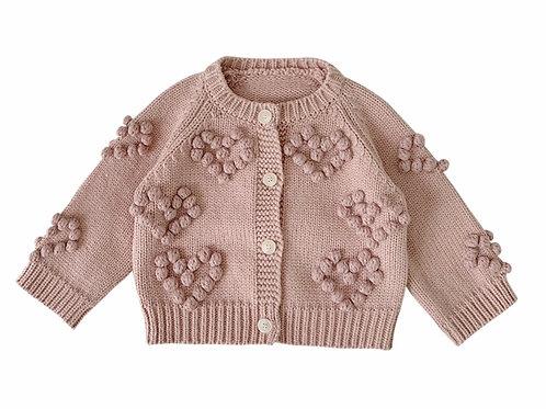 La petite surprise Couture Strickjacke Altrosa
