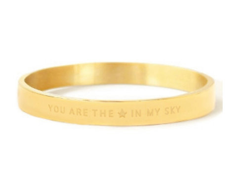 """Armband aus Stainless Steel - """"YOU ARE MY STAR IN THE SKY"""" Go"""