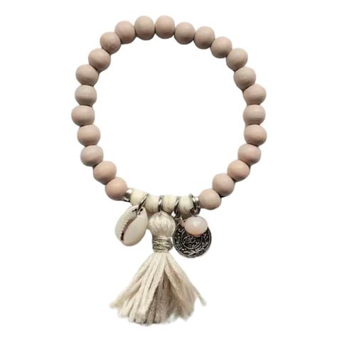 La petite surprise Couture Boho Armband Beige
