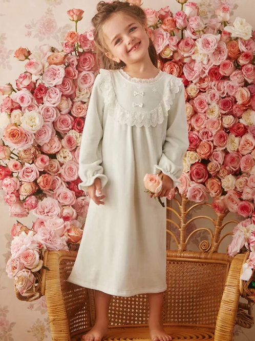 La petite surprise Couture Nachthemd Colette Mint
