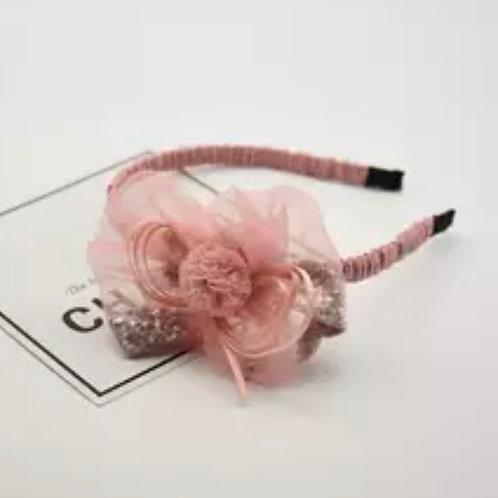 La petite surprise Couture Haarreifen Rosa
