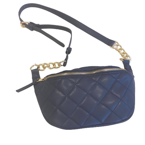 La petite surprise Couture Gürteltasche Marineblau
