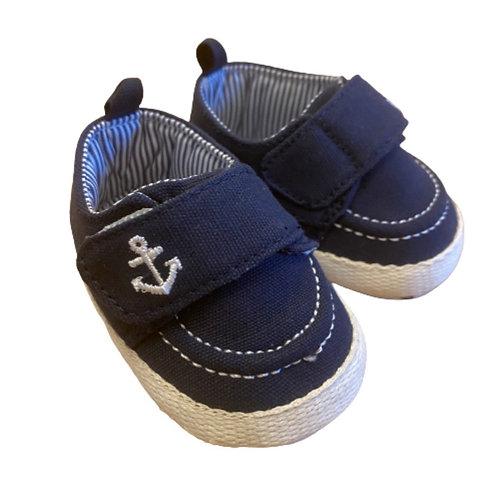 La petite surprise Couture Baby Schuhe Navy