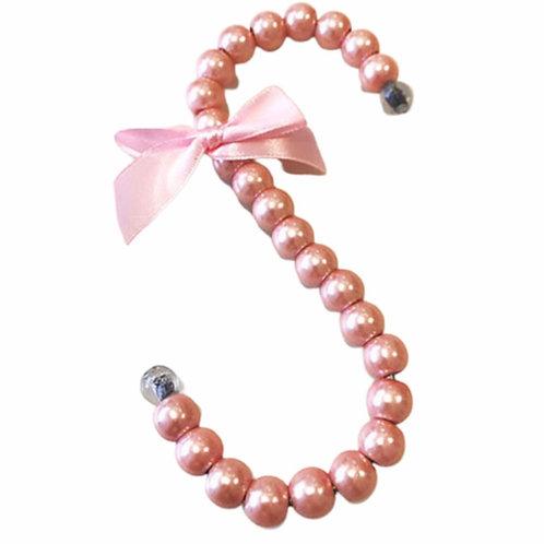 La petite surprise Couture Aufhänger Haken Perlen Rosa 16 cm