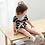 Thumbnail: La petite surprise Couture - 1 Paar Baby Socken Pastellapricot Gr.0-12 Monate
