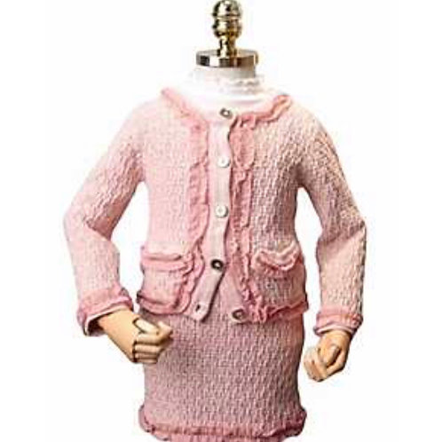 La petite surprise Couture Set Boucle Rosa