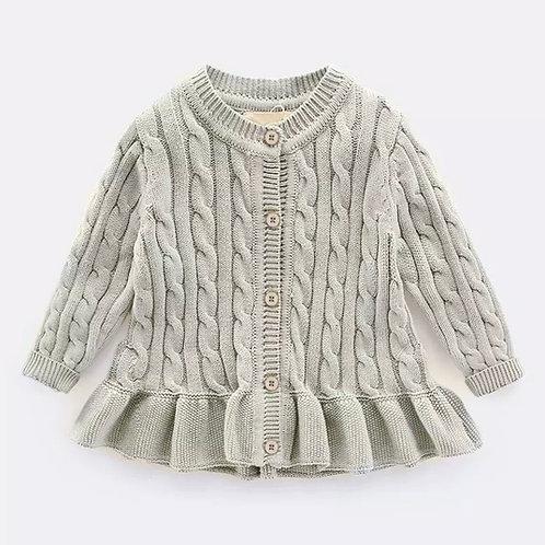 La petite surprise Couture Strickjacke Grau