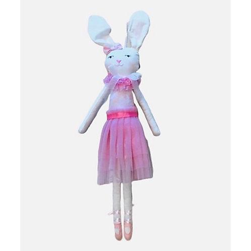 La petite surprise Couture Bunny Stoffpuppe Candypink 42 cm