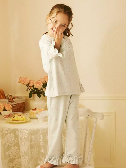 La petite surprise Couture Schlafanzug Christine Mint