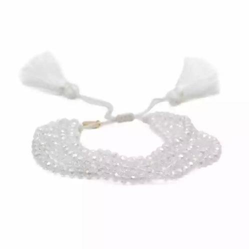 La petite surprise Couture Boho Armband Weiß