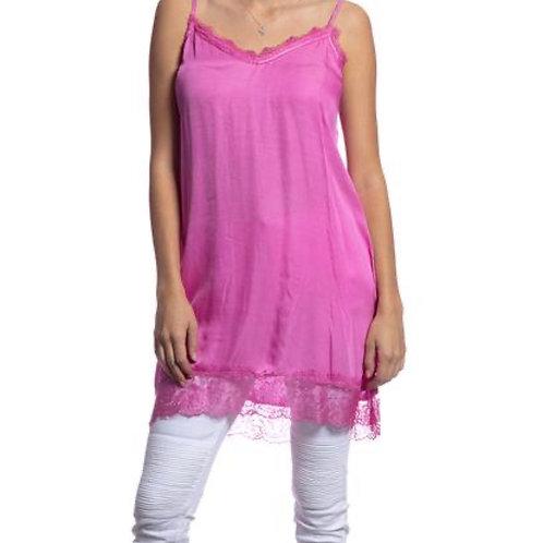 V Milano Spitzentop / Unterkleid Sindy Pink