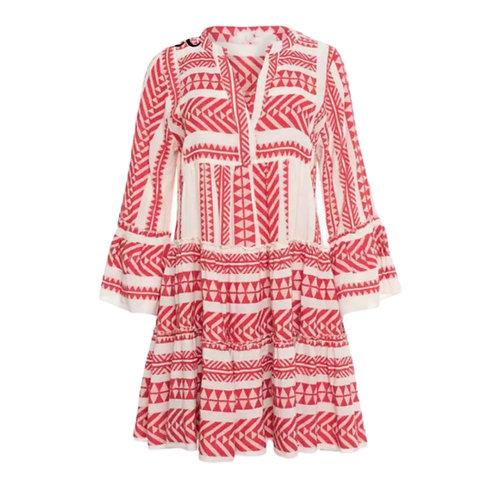 La petite surprise Couture Boho Kleid Rot