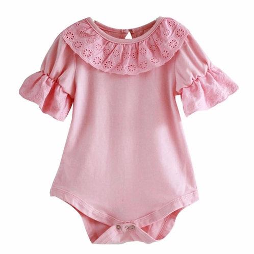 La petite surprise Couture Baby Body Rosa